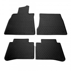 Комплект резиновых ковриков в салон автомобиля Mercedes Benz W222 S long 2013- (1012224)