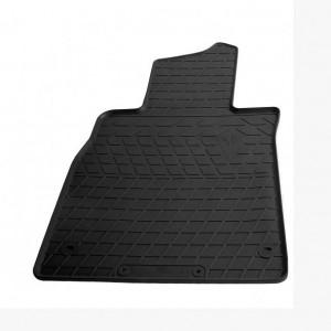 Водительский резиновый коврик Mercedes Benz W222 S long 2013- (1012224 ПЛ)