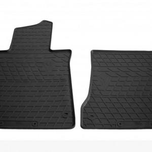Передние автомобильные резиновые коврики Mercedes Benz W222 S long 2013- (1012222)