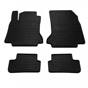 Комплект резиновых ковриков в салон автомобиля Mercedes-Benz C117 CLA 2013- (1012234)