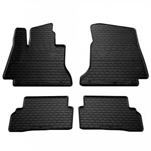 Комплект резиновых ковриков в салон автомобиля Mercedes-Benz W205 C 2014- (1012244)