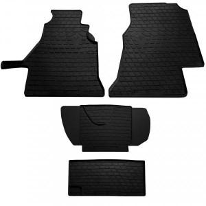 Комплект резиновых ковриков в салон автомобиля Mercedes W901-905 Sprinter 1995- (1+1) (1012274)