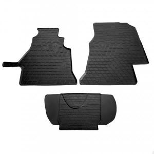 Комплект резиновых ковриков в салон автомобиля Mercedes W901-905 Sprinter 1995- (1012283)