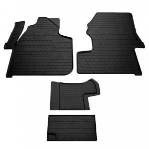 Комплект резиновых ковриков в салон автомобиля Mercedes Benz W906 Sprinter II (1+1) 2006- (1012314)
