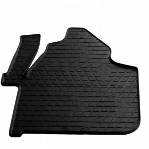 Водительский резиновый коврик Volkswagen Crafter (1+2) (1012323 ПЛ)