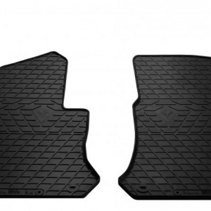 Передние автомобильные резиновые коврики Mercedes Benz X253 GLC 2015- (1012342)