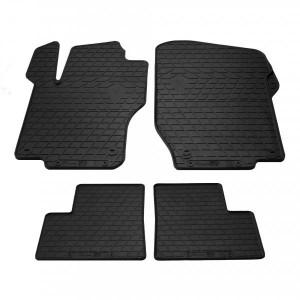 Комплект резиновых ковриков в салон автомобиля Mercedes Benz GL-X164 2005- (1012384)