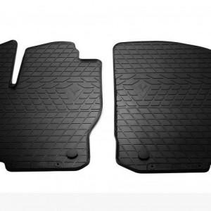 Передние автомобильные резиновые коврики Mercedes Benz W166 ML 2011- (design 2016) (1012392)