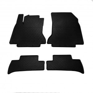 Комплект резиновых ковриков в салон автомобиля Mercedes Benz W246 B Electric Drive 2014- (1012424)