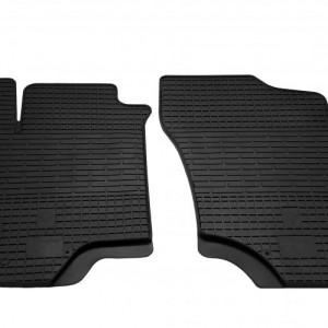 Передние автомобильные резиновые коврики Mitsubishi Lancer IX 2004-2008 (1013022)