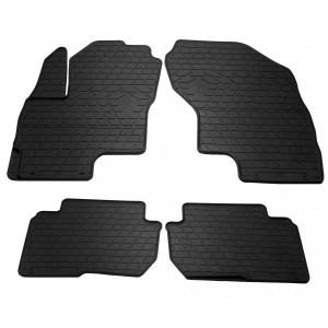 Комплект резиновых ковриков в салон автомобиля Mitsubishi Outlander PHEV 2013- (1013244)