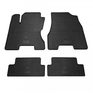 Комплект резиновых ковриков в салон автомобиля Nissan X-Trail T31 (1014024)