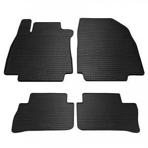 Комплект резиновых ковриков в салон автомобиля Nissan Tiida (1014104)