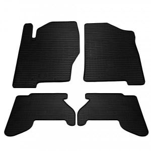 Комплект резиновых ковриков в салон автомобиля Nissan Pathfinder R51 2005-2010 (1014154)