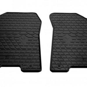 Передние автомобильные резиновые коврики Infiniti QX80 2013- (1014192)