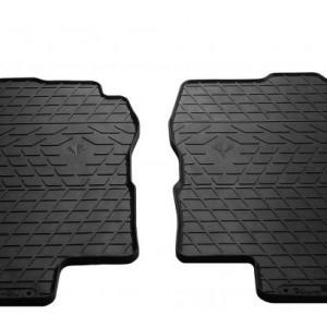 Передние автомобильные резиновые коврики Nissan Primera (P12) 2002- (1014222)