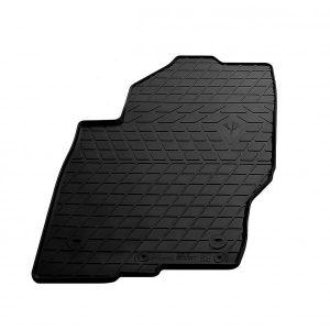 Водительский резиновый коврик Nissan Pathfinder III (R51) (2010-2015) (design 2016) (1014244 ПЛ)