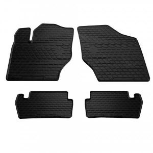 Комплект резиновых ковриков в салон автомобиля Citroen C4 2004-2009 (1016054)