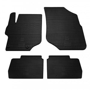 Комплект резиновых ковриков в салон автомобиля Peugeot 301 2013- (1016114)