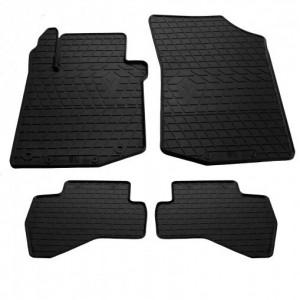 Комплект резиновых ковриков в салон автомобиля Citroen C1 2005-2014 (design 2016) (1016154)