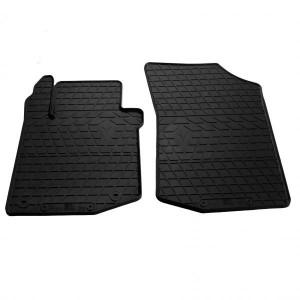 Передние автомобильные резиновые коврики Citroen C1 2005-2014 (design 2016) (1016152)