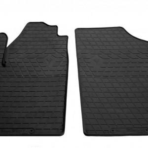 Передние автомобильные резиновые коврики Peugeot Partner 1999-2008 (design 2016) (1016212)