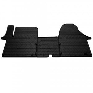 Комплект резиновых ковриков в салон автомобиля Nissan Primastar 2002- (1+2) (1018153)