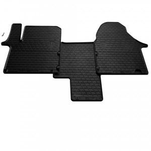 Комплект резиновых ковриков в салон автомобиля Nissan Primastar 2002- (1+1) (1018153)