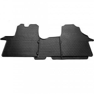 Комплект резиновых ковриков в салон автомобиля Renault Trafic III 2014- (1018183)