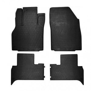 Комплект резиновых ковриков в салон автомобиля Renault Grand Scenic 2009- (1018214)