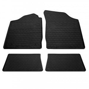 Комплект резиновых ковриков в салон автомобиля Renault Symbol II 2008- (1018244)