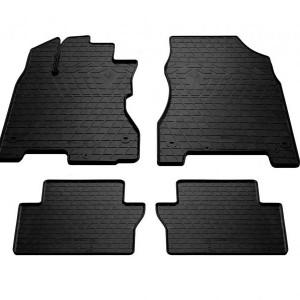 Комплект резиновых ковриков в салон автомобиля Renault Koleos 2008- (1018264)