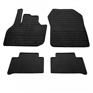Комплект резиновых ковриков в салон автомобиля Renault Zoe 2013- (1018294)