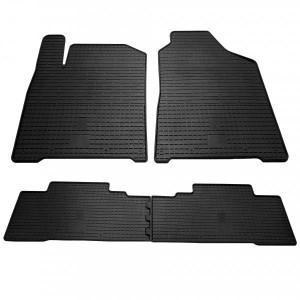 Комплект резиновых ковриков в салон автомобиля Ssang Yong Korando 2011- (1019014)