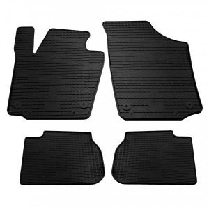 Комплект резиновых ковриков в салон автомобиля Skoda Rapid 2013- (1020014)
