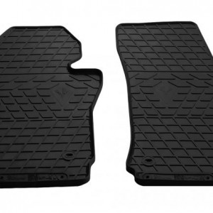 Передние автомобильные резиновые коврики Seat Leon II 2005- (1020142)