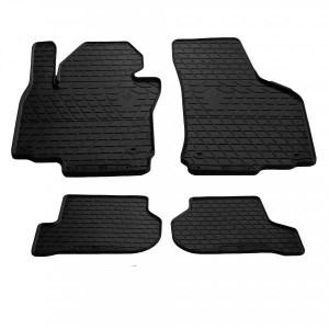 Комплект резиновых ковриков в салон автомобиля Volkswagen Golf 6 2009- (1020144)