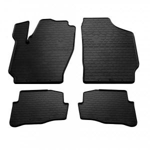 Комплект резиновых ковриков в салон автомобиля Skoda Fabia I 2000- (1020154)