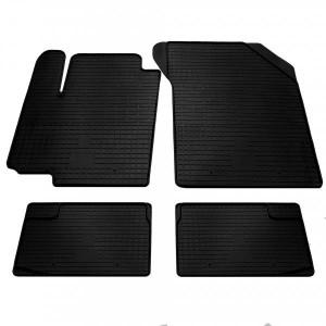 Комплект резиновых ковриков в салон автомобиля Fiat Sedici (1021014)