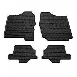Комплект резиновых ковриков в салон автомобиля Suzuki Jimny JB 1998-2018 (1021054)