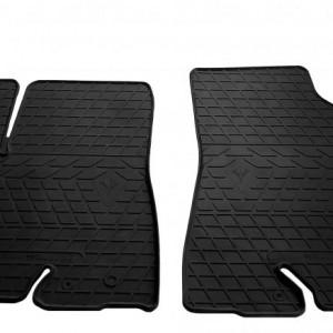 Передние автомобильные резиновые коврики Toyota Highlander (XU50) 2014-2019 (1022162)