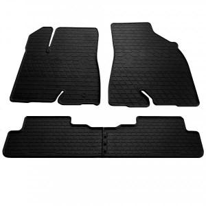 Комплект резиновых ковриков в салон автомобиля Toyota Highlander (XU50) 2014-2019 (1022454)