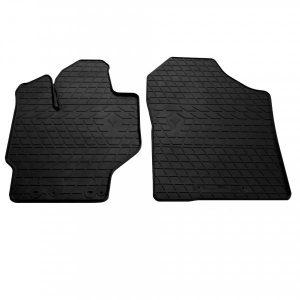 Передние автомобильные резиновые коврики Toyota Yaris 2013- (1022272)
