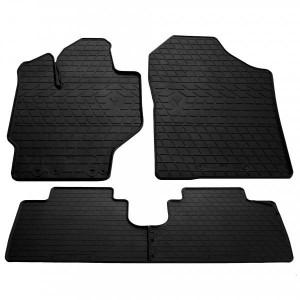 Комплект резиновых ковриков в салон автомобиля Toyota Yaris 2013- (1022274)