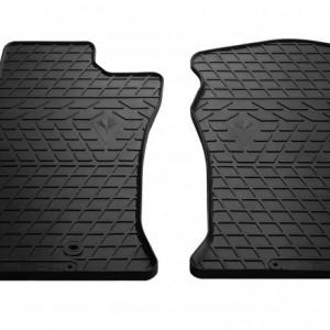 Передние автомобильные резиновые коврики Lexus GX 470 2002- (design 2016) (1022282)