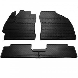 Комплект резиновых ковриков в салон автомобиля Toyota Auris (E150) 2007-2013 (1022324)