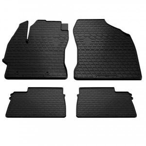 Комплект резиновых ковриков в салон автомобиля Toyota Corolla 2013- (design 2016) (1022334)