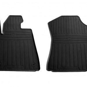 Передние автомобильные резиновые коврики Toyota Sequoia II 2008- (special design 2017) (1022382)