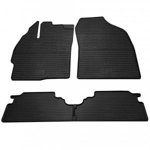 Комплект резиновых ковриков в салон автомобиля Toyota Prius V 2011- (1022474)