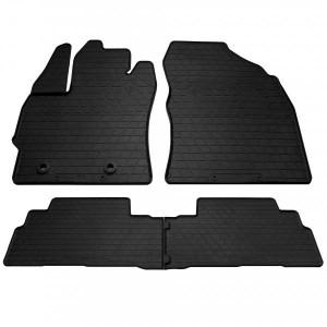 Комплект резиновых ковриков в салон автомобиля Toyota Verso (R20) 2012- (1022494)